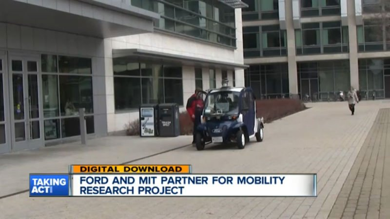 TECH: Ford's fleet of electric shuttles to measure foot traffic on MIT's campus