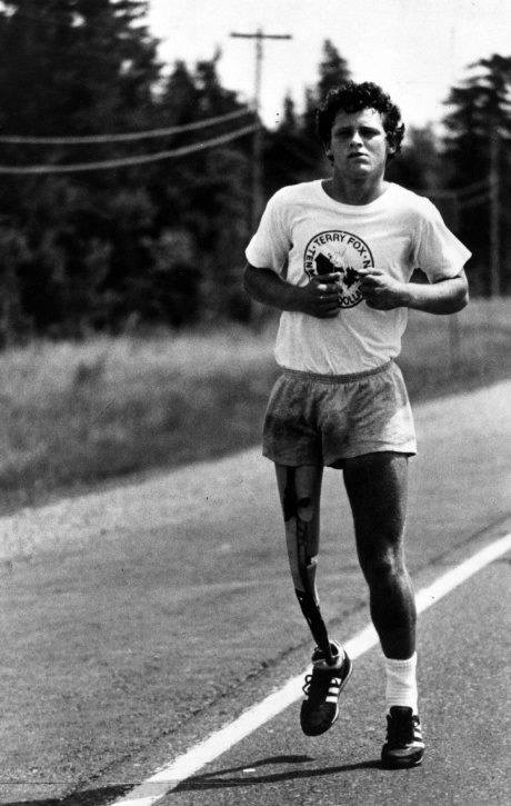 Today would have been Terry Fox's 58th birthday. Honour his memory by taking part in the @TerryFoxCanada Run in Sept https://t.co/q4Id9lhvH1