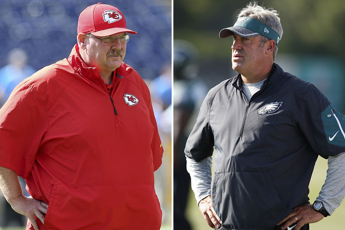 Welcome back, Andy Reid! Well ... kind of. Pederson following Reid's training camp to the T