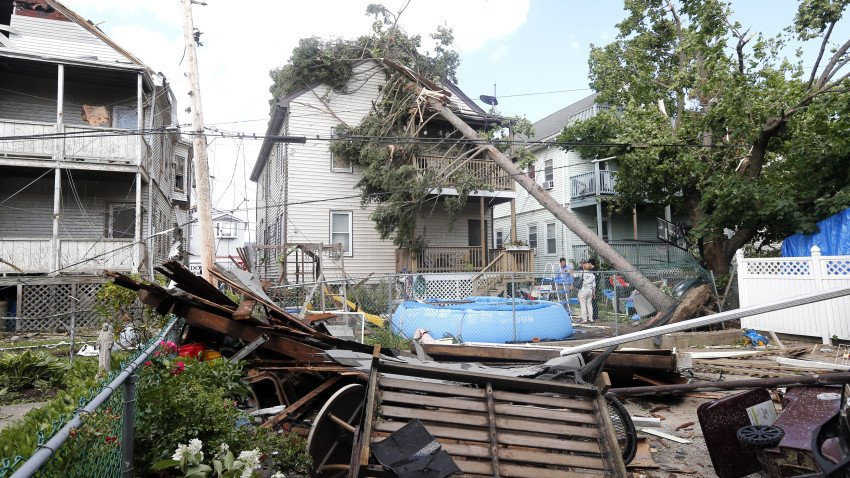 A tornado struck Revere two years ago today. Just how rare are tornadoes here?