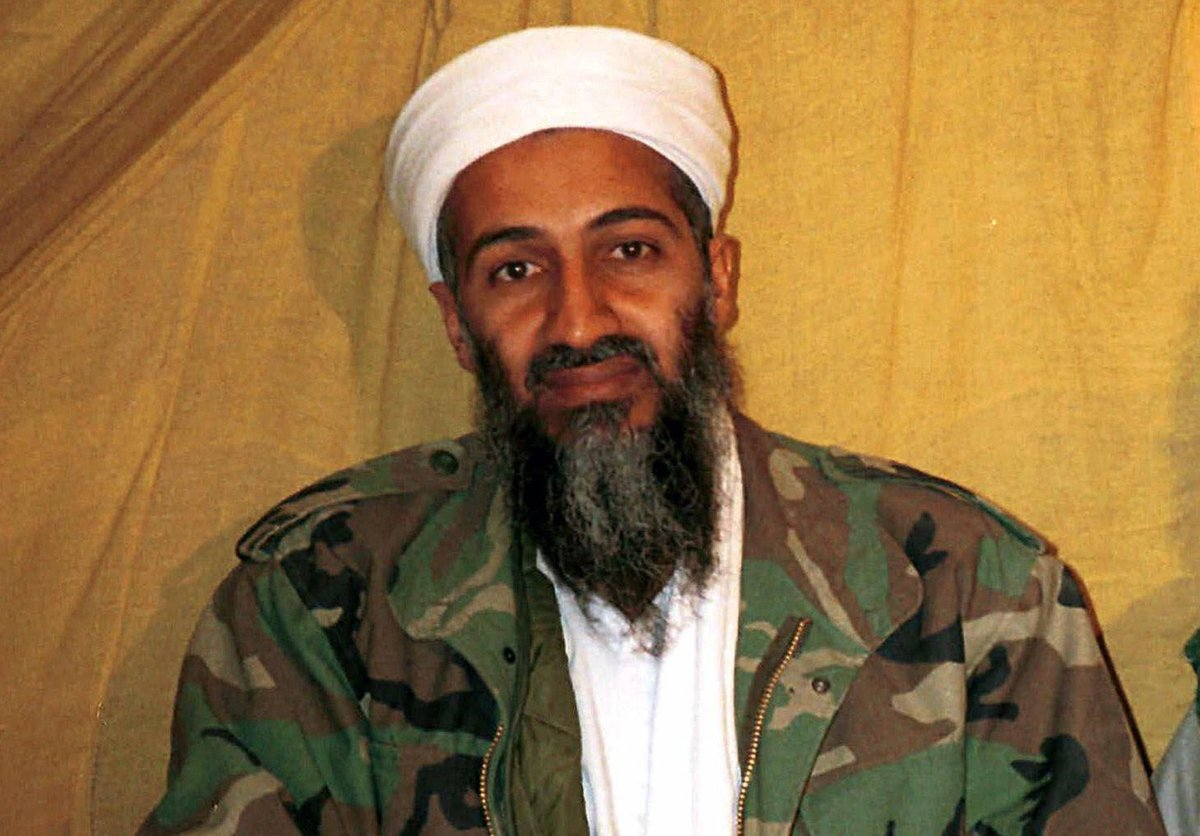 """Nothing says """"breaking with Al Qaeda"""" like consciously evoking Bin Ladin in your debut photo, am I right? https://t.co/Z1FSdJrab2"""