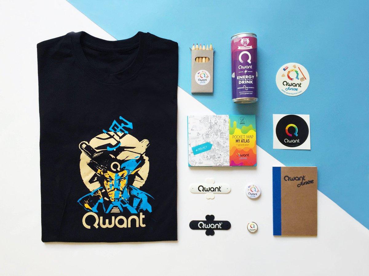 """Les goodies #Qwant """"Spécial été"""" sont à gagner ⚡ RT + Follow pour tenter votre chance ⚡ #concours https://t.co/KWFr2dATvC"""