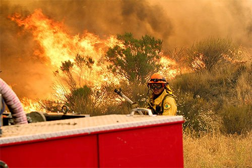 SandFire is now 65% contained, has burned 38,346 acres, officials say