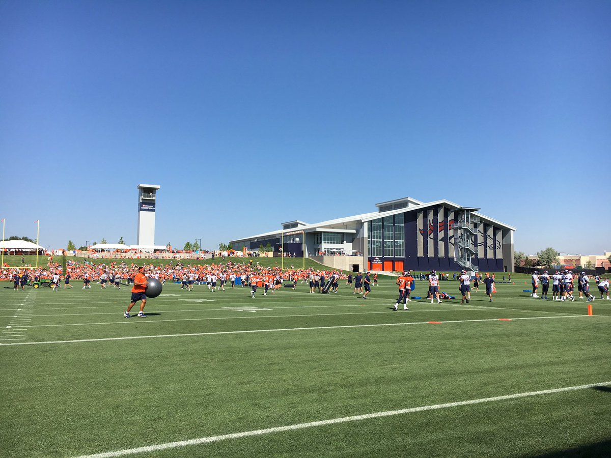 Broncos fittingly started training camp with Jay Z's