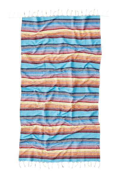 Stripes are an easy and attractive way to brighten up your home this summer.