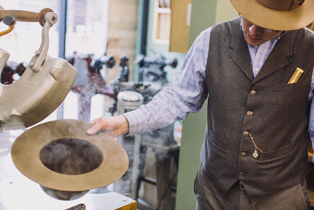 @WatsonsHat crafts custom toppers in a cowboy town. This PHX Story takes you to the shop