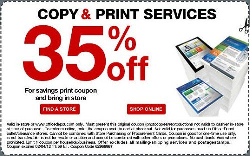staples coupons copy and print center