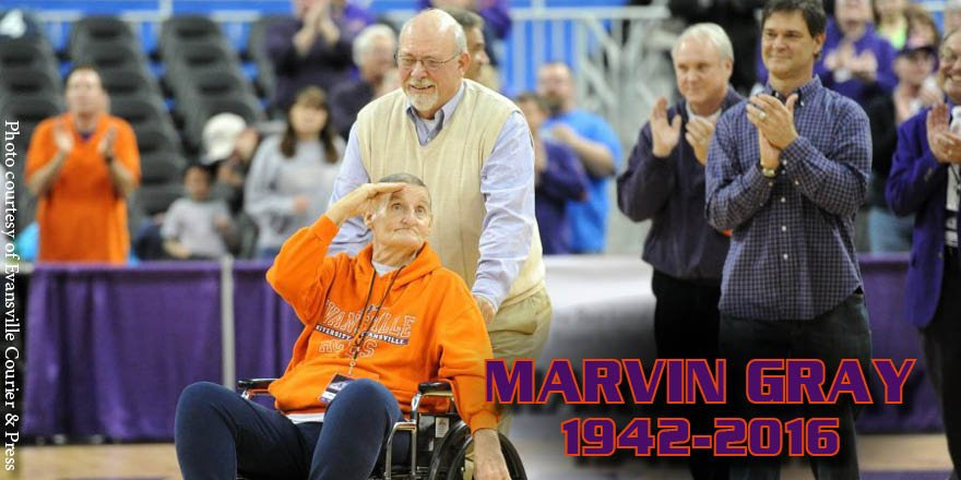 Like many in the Evansville community, we too mourn the loss of lifelong Aces fan Marvin Gray. https://t.co/0pIs4xidVE