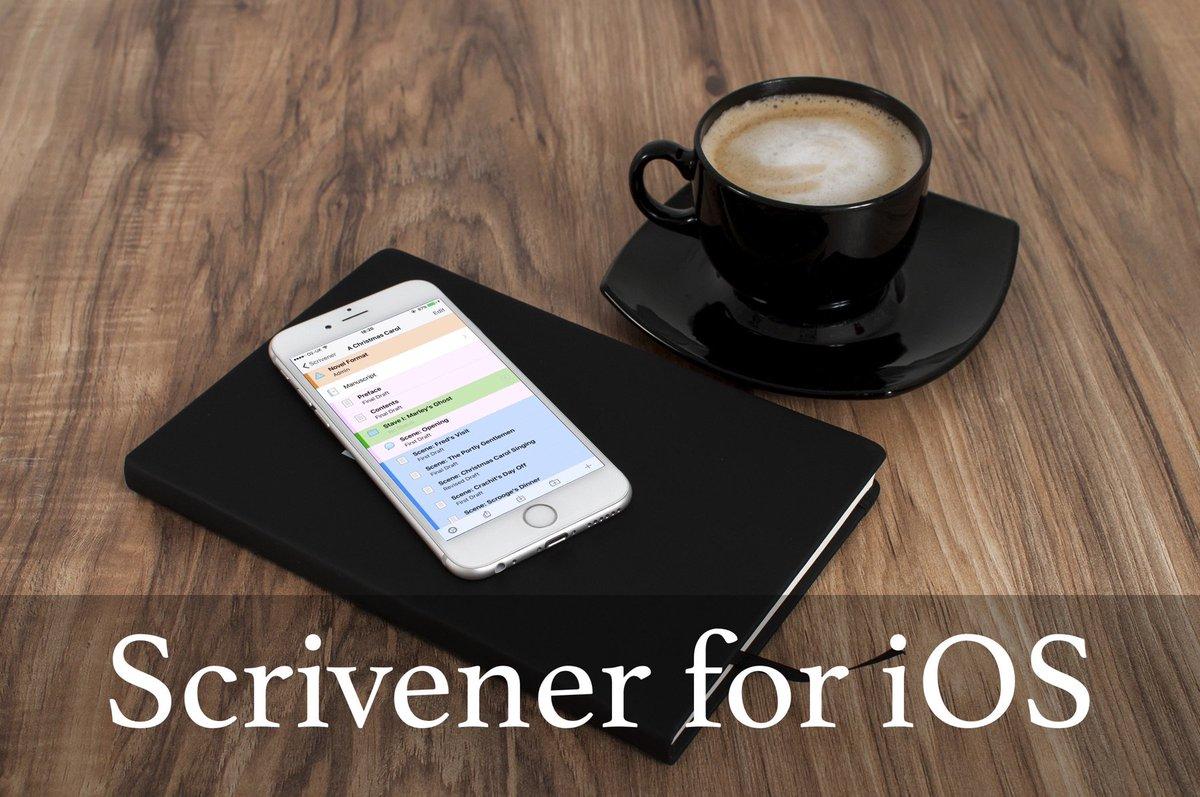 Take a break & learn all about @ScrivenerApp for iOS   https://t.co/pV9adVIQbg  #Scrivener . https://t.co/OrWWdyl41l