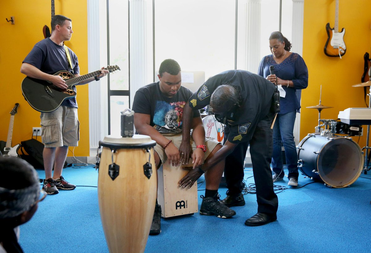 BPDInTheNews: Music Brings Boston Police and City Youth Together