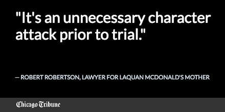 Mother of Laquan McDonald opposes release of her son's confidential juvenile records