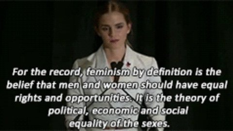 #IAmAFeminist because when you believe in equal rights, it's the only think that makes sense. https://t.co/aLeFPUXoOc