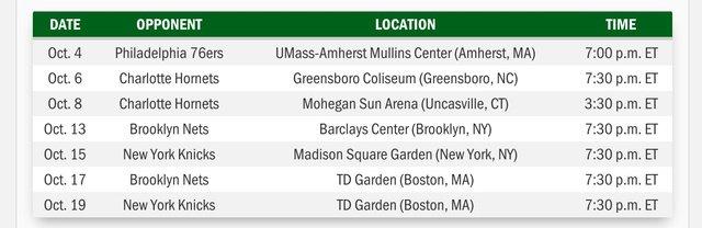 Celtics Pre-Season Schedule CoeBKXiUEAAEw_V