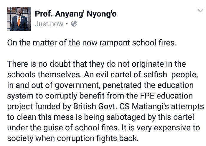 My thoughts on the rampant school fires. https://t.co/sJf8oTZKtx @FredMatiangi @gabrieloguda @jamessmat @MarkMasai https://t.co/Go7aXqfF4X