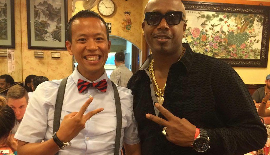 DNC CELEBS: MC Hammer in Chinatown, Bryan Cranston Lurks Quietly