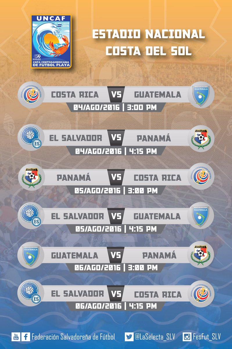 Torneo UNCAF 2016 en El Salvador. CoeDFfQUMAAVz8u