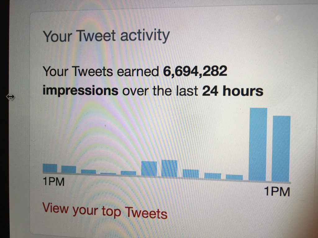 Wow. My tweets are attracting rather a lot of eyeballs. https://t.co/vsilM0x7OX