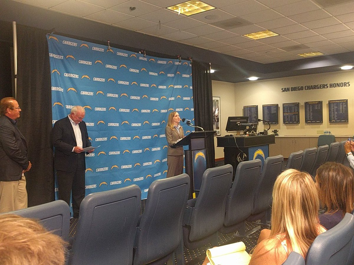 .@MargieNewman on #Chargers: This is not about football business, this is about invigorating #SanDiego economy