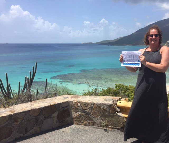 A #SeaGrantWater from @elizabeth_ban (Engagement Lead for Sea Grant) in the US Virgin Islands. Take us with you! https://t.co/AeFomn3yJK