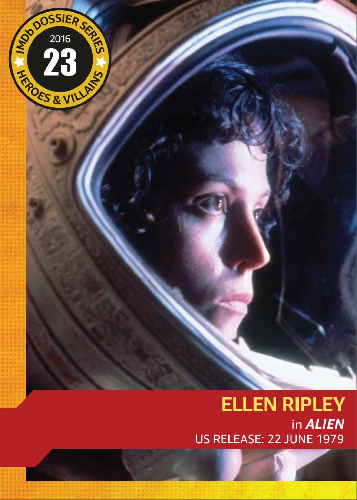 Sigourney Weaver Trading Card : Sigourney Weaver Aliens