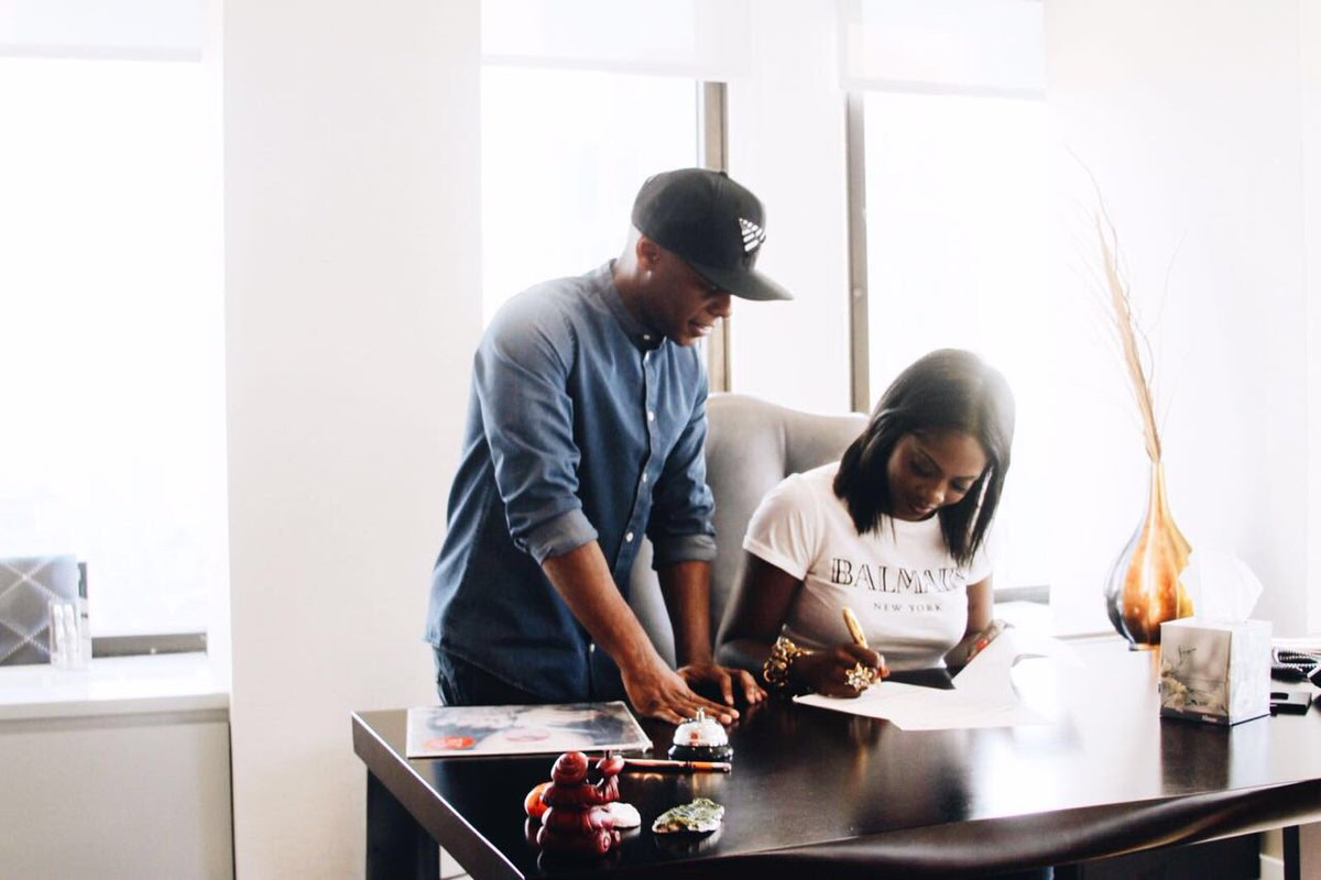 Signed, Sealed, Delivered. #RocNation
