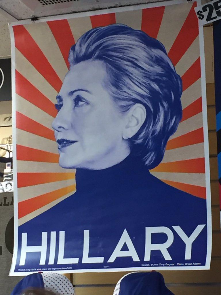 Hillary poster at #DNCinPHL invokes communist Mao. Does she know he murdered 45 million people? #SocialismKills https://t.co/mMt7KoTUKT