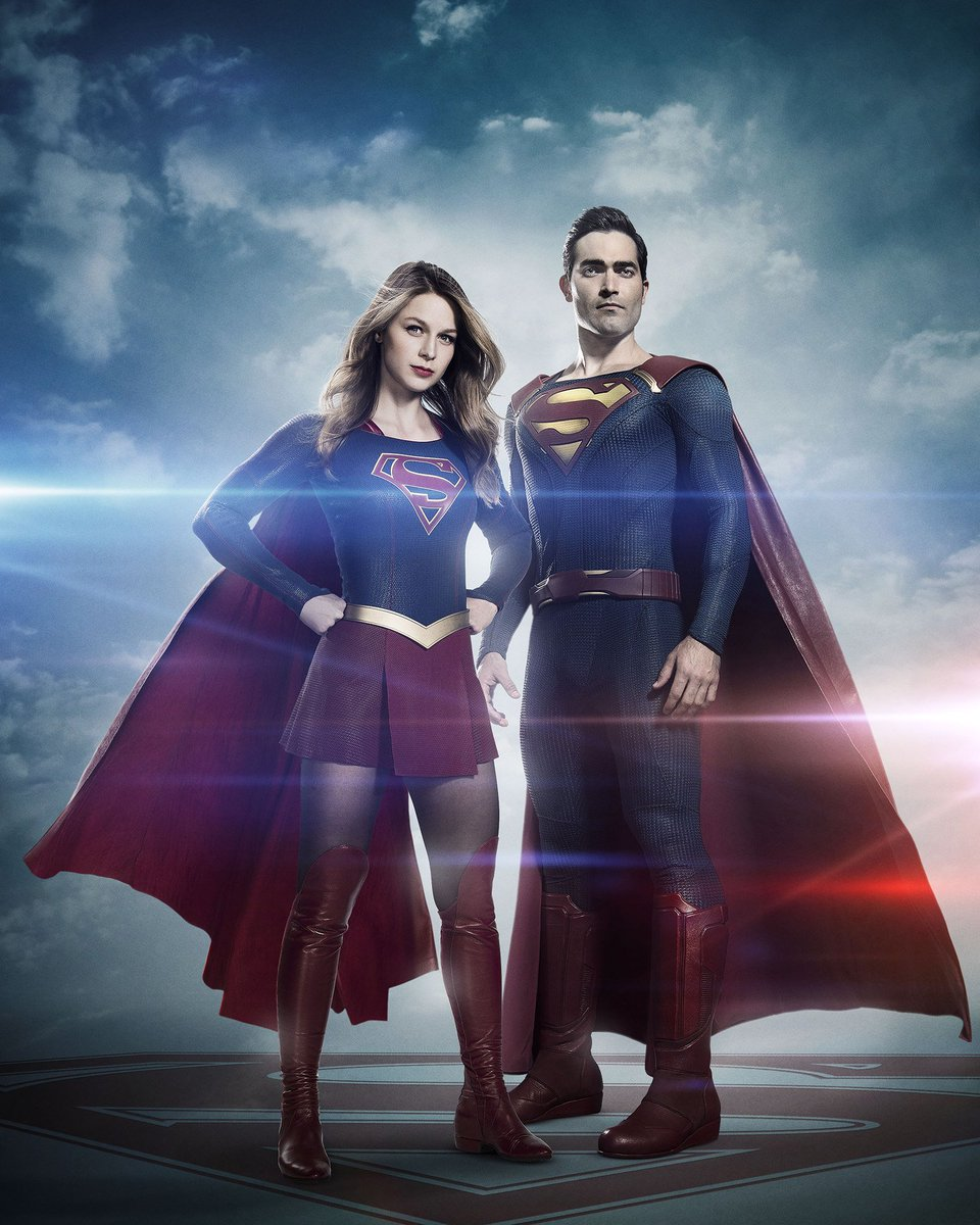 It's a bird! It's a plane! It's Tyler Hoechlin as Superman in 'Supergirl'