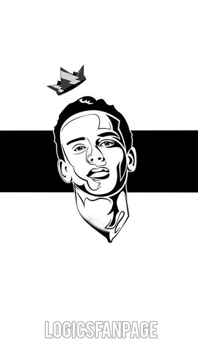 Logic Rapper Drawing Logic Rapper Cartoon Drawing - Free Printable ...