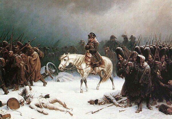 「冬将軍 ナポレオンイラスト」の画像検索結果