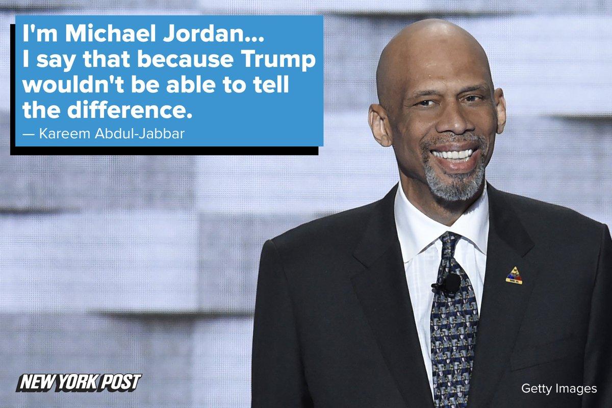 Kareem Abdul-Jabbar's got jokes