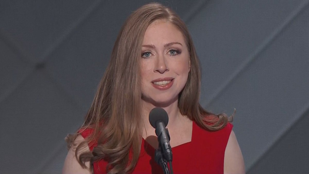 Chelsea Clinton is introducing her mom at DemsInPhilly WATCH