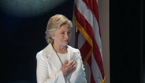 @HillaryClinton speaking LIVE at Democratic National Convention. Watch here >>