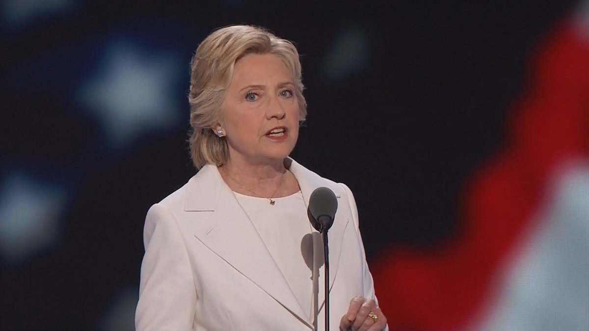 Hillary Clinton speaks to DemsInPhilly --