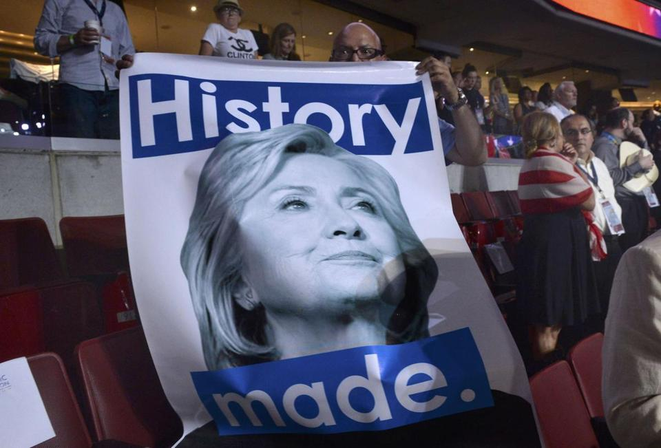 Hillary Clinton is viewed unfavorably by 55.6 percent of the public, according to polls