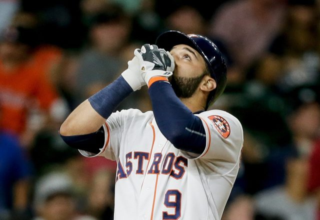 Spirits in the outfield? Photos show the Astros might've had ghostly company this week