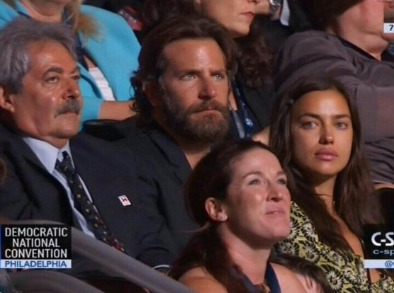 Bradley Cooper shows up to DemsInPhilly, proves he's not actually an American Sniper