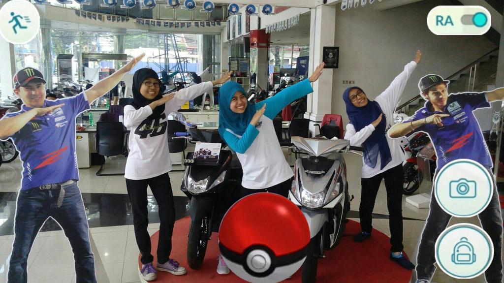Ayo main SepangGo @YamahaIndonesia 🙌Temukan dan terbangkan aku ke Sepang! Ria #zagoanselfie #berlianmerdeka #bandung