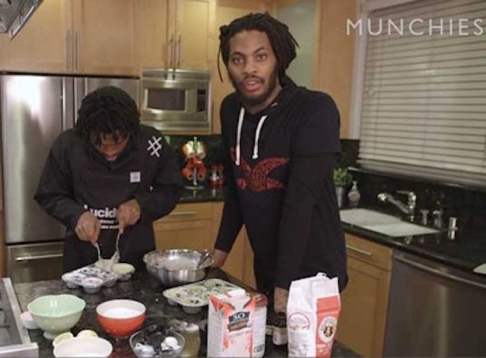 RT @essencemag: #TBT @WakaFlocka and @Raury's Vegan Baking Tutorial Is STILL Everything: https://t.co/5OC5s7TYWv https://t.co/Orggwvfb3y