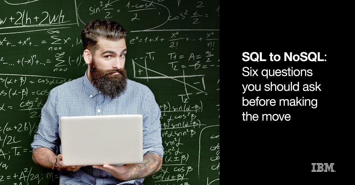 SQL To NoSQL