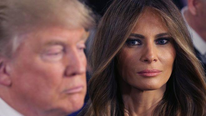Melania Trump cancella il sito web per un'altra bugia