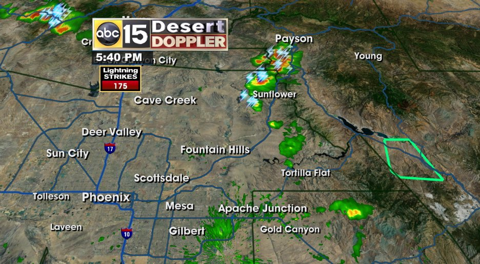 Storms trying to move down into the Valley right now. Lake Alerts at Saguaro and Canyon lake. High winds. abc15wx