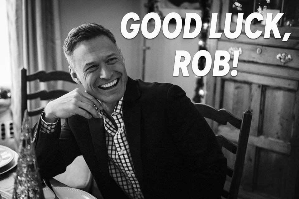 Tomorrow we say goodbye to our own @RobPowers7 as he heads back home to Cleveland -- join us in wishing him well!