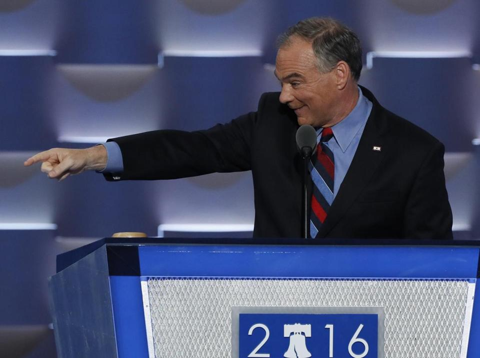 N.C. GOP apologizes after mistaking Tim Kaine's pin for Honduran flag