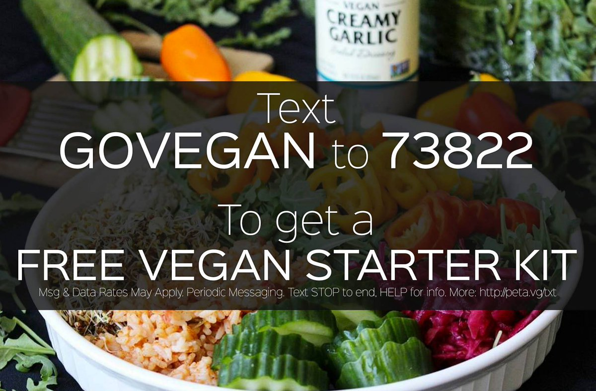 Free vegan starter kit