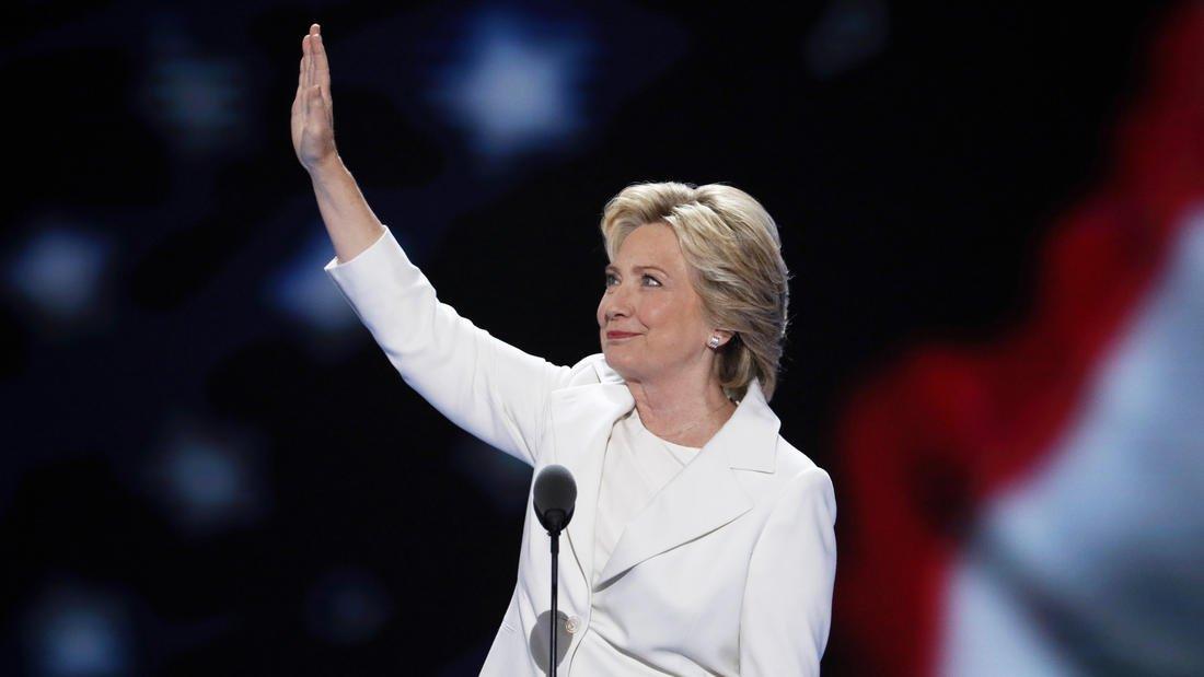 Hillary Clinton accepts Democratic nomination: