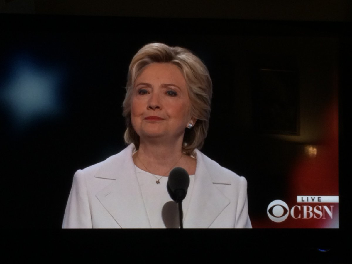 Hillary has emerged from the fires of Moria stronger than ever. She is now Hillary the White. https://t.co/0cj2SWOX1p