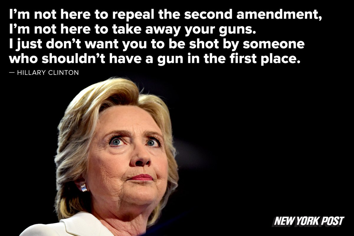 @HillaryClinton on the gun laws DemsinPhilly