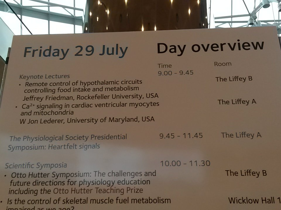 Which lecture first? #physiology2016 https://t.co/vk1lAslcAN
