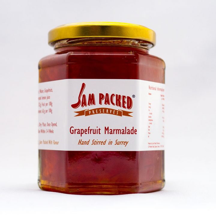 We have won our 1st @guildoffinefood #GreatTasteAward ⭐️⭐️ for #grapefruit #marmalade 😄🍾 Blog to follow on website! https://t.co/3kSqmOA9UH