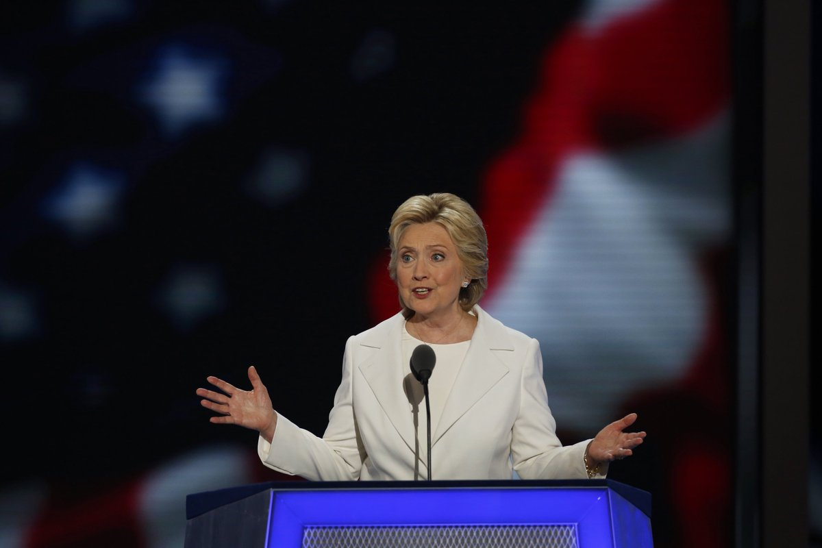 Hillary Clinton's complete speech from the DNC, annotated